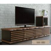 テレビボードローボード幅200ASV2リビング収納おしゃれ納TV台TVボードオークウォールナット(キャビネット別売り)