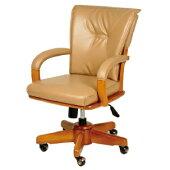 ダイニングチェアダイニングチェアーss回転木製ロッキングチェア昇降式キャスター付きPVC肘付き食卓イスチェアいすイス木製回転式回転椅子回転チェアライトブラウンおしゃれ人気