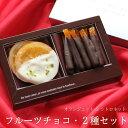 バレンタイン チョコ フルーツチョコ 2種セット (手提げ袋