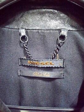 DIESEL BLACK GOLD シープスキン レザージャケット L【中古】