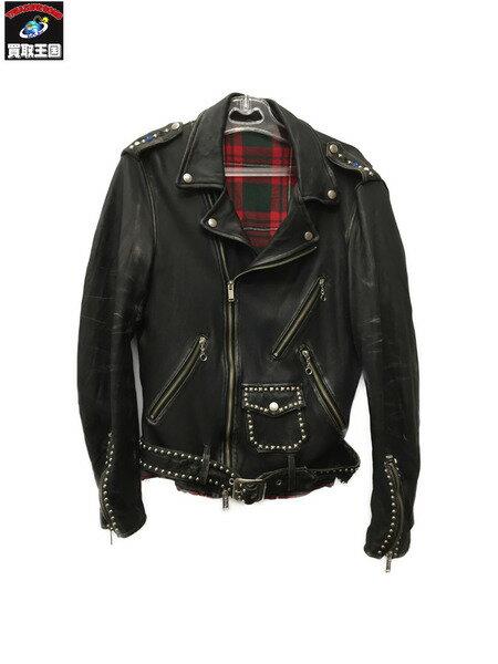 メンズファッション, コート・ジャケット UNDERCOVER 16SS STUDS LEATHER RIDERS JACKETBLKsize2
