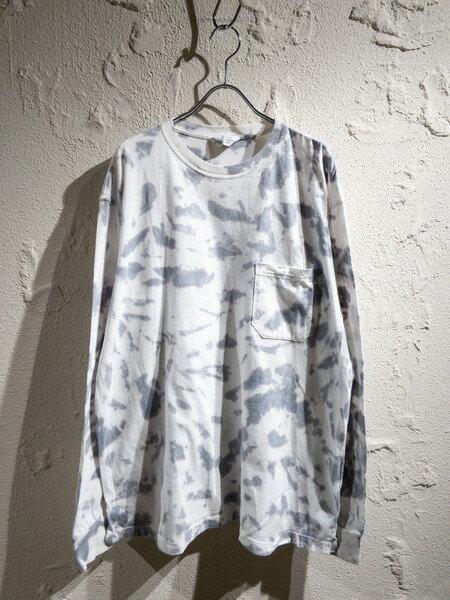 トップス, Tシャツ・カットソー UNUSED19SSLong sleeve tie dye TEE2