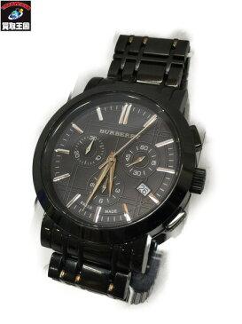 BURBERRY ヘリテージ クロノグラフ ウォッチ BU1373 バーバリー Heritage 腕時計 クォーツウォッチ【中古】[▼]
