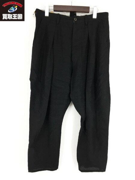 メンズファッション, ズボン・パンツ Araki yuu 18SS Cropped Pants DETILI Black 1 1