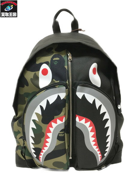 A Bathing Ape backpack A BATHING APE SHARK DAYPA...