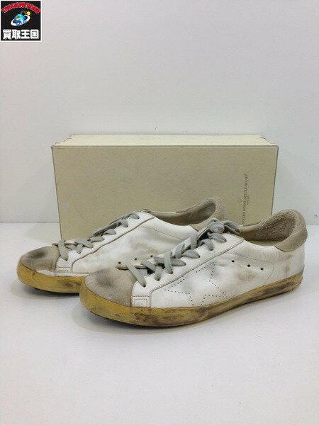 メンズ靴, スニーカー GOLDEN GOOSE DELUXE BRAND SUPER STAR WHITE SKATE 43