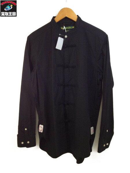 トップス, カジュアルシャツ  16AW SASQUATCHfabrix. China Shirt (L) BLK