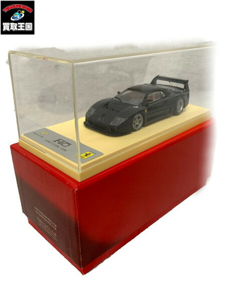 車, ミニカー・トイカー MAKEUP 143 Ferrari F40 COMPETIZIONE BLACK Limited Edition