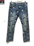 Levi's×MICKEY MOUSE リーバイス×ミッキーマウス 501 34/30 【中古】