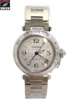 Cartier カルティエ パシャ・メリディアン・GMT/腕時計/AT/W31029M7【中古】