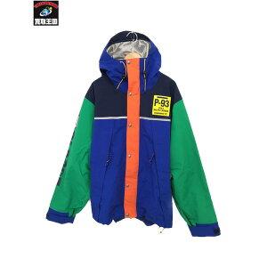 POLO RALPH LAUREN/Colorblocked Nylon Mountain Jacket/L【中古】[▼]