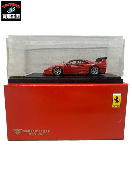 車, ミニカー・トイカー EIDOLON Makeup 143 Ferrari F40GTE Street Red 1995