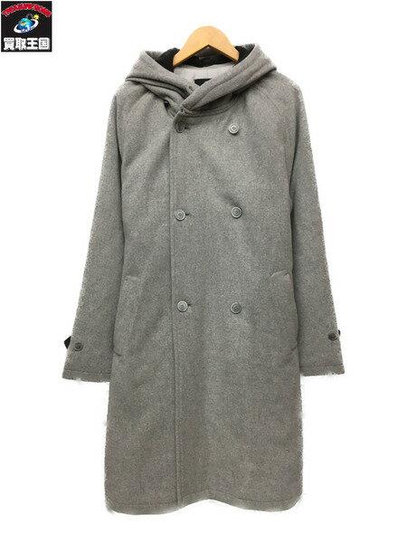 メンズファッション, コート・ジャケット bukht 2way DETACHABLE FOODED COAT 2