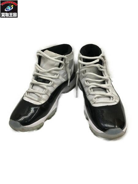 メンズ靴, スニーカー NIKE AIR JORDAN 11 RETRO 378037-100 WHTBLK 28.5cm