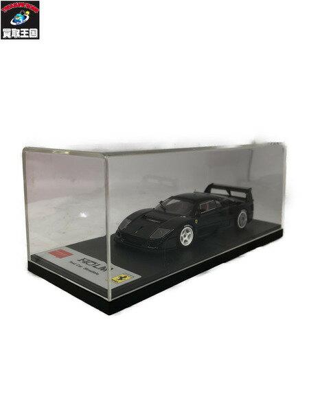 車, ミニカー・トイカー Make Up 143 F40 LM Test Car Stradale BLACK