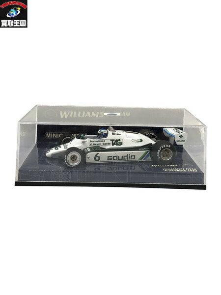 車, ミニカー・トイカー  143 WILLIAMS F1 FW08 K.ROSBERG 1982