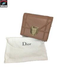 C.Dior ディオラマ コンパクトウォレット 【中古】