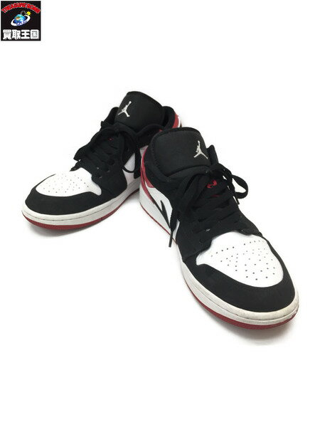 メンズ靴, スニーカー NIKE Jordan 1 Low Black Toe 27.5cm 1