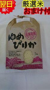 【新米】北海道産ゆめぴりか☆5kg送料無料※北海道・沖縄一部離島は別途送料500円が掛かります。