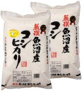 【新米】 令和2年産 新潟県魚沼産コシヒカリ 10kg(5k