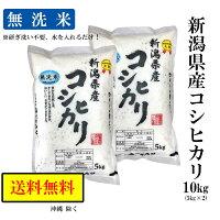 【美味しい無洗米】令和元年産新潟県産コシヒカリ5kg