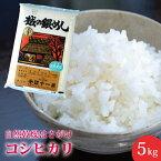 【楽ギフ_のし】【米】新潟県産自然乾燥はざかけコシヒカリ5キロ