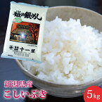 【楽ギフ_のし】新潟県産こしいぶき5kg【おいしいお米】米