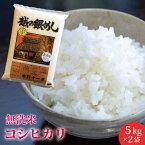 【楽ギフ_のし】【米10kg/コシヒカリ/おいしいお米】送料無料!新潟こしひかり10kg(5kg×2袋)無洗米お米10キロ