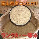 ヘルシーに玄米食お好みの精米で召し上がりたい人におすすめ包装方法がお選びいただけます。【期間限定・送料無料】【23年度産】富山県産コシヒカリ玄米(一等米・ランクA)30kg