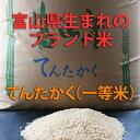 ヘルシーに玄米食お好みの精米で召し上がりたい人におすすめ包装方法がお選びいただけます。【期間限定・送料無料】【23年度産】富山県産てんたかく玄米(一等米・ブランド米)30kg