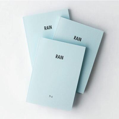 雨の日に開きたい。RAINという名の美しいノート