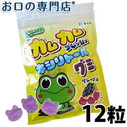 カムカムフレッシュキシリトールグミグレープ味1袋(12粒入)