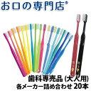 【送料無料】歯科専売品 大人用 歯ブラシ 20本 福袋/MY...