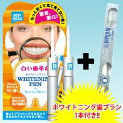 歯のホワイトニングNo.1ナチュラルホワイト社ラピッドホワイトブライトスティック★美白歯ブラ...