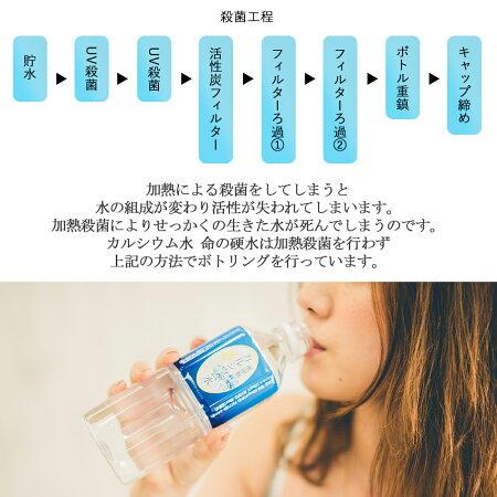【国産】命の硬水カルシウム水(500ml×24本)