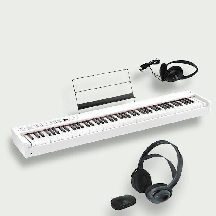 KORG D1 WH コルグ電子ピアノ スピーカーレス ワイヤレスヘッドホン付属
