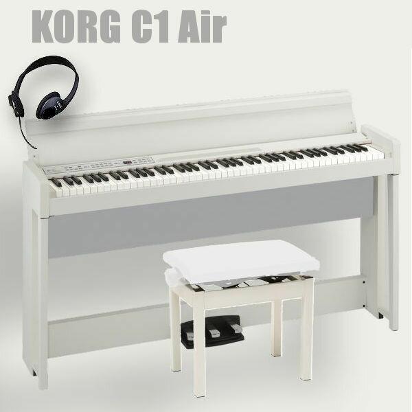 ピアノ・キーボード, 電子ピアノ KORG 88 C1 Air WH ()
