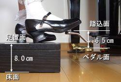 ピアノ補助ペダルイージーペダルCA900