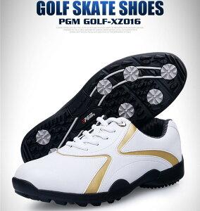 ゴルフ ゴルフシューズ ソフトスパイク メンズ スパイクシューズ スニーカー 靴 紳士 防水 人工皮革