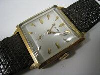 ロンジンK18手巻き、メンズ時計()