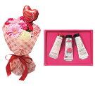 母の日ギフトバルンスタンディングブーケとロクシタンハンドクリーム3本セット【メーカー直送】お母さん母親プレゼント贈り物花フラワー
