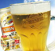 [キリンラガービール6缶セット]クールなネーム入りジョッキ