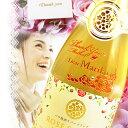 【母の日】ワンポイント彫刻 バラ梅酒スパークリング 720ml | 名入れ 母の日 梅酒 プレゼント ...