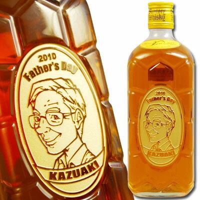 【名入れ・似顔絵】ウイスキー サントリー 角瓶 700ml ◇ ボトル彫刻 プレゼント・ギフト用