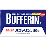Bufferin A80 tablets 1476