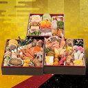 商品画像:美食サークルの人気おせち2018楽天、京都コラボおせち「参段重」(和洋/冷蔵/京都のおせち料理)
