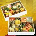 商品画像:京佃煮野村 楽天市場店の人気おせち2018楽天、糖質を考えたおせち「弐段重」(冷蔵/おせち料理)