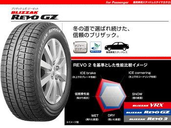 【国産スタッドレスタイヤ単品】155/80R13ブリヂストンブリザックレボGZ新品4本セット