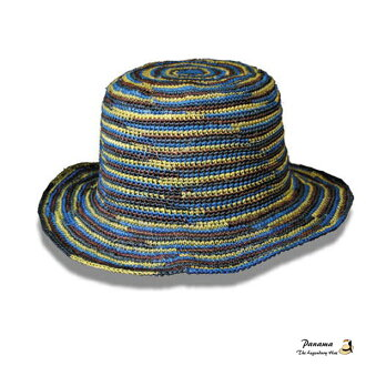 パナマラテッシャ blue «Panama Ratheshya Blue» original Panama Hat