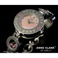 ANNECLARK(アンクラーク)ムービングストーンチェーンブレス腕時計AT1008-09
